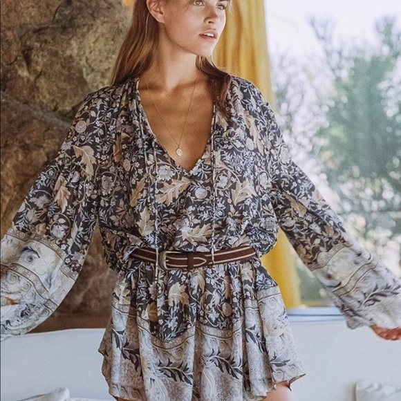 Spell & The Gypsy Collective Dresses & Skirts - Spell & Gypsy Oasis L/S Mini Sz Large